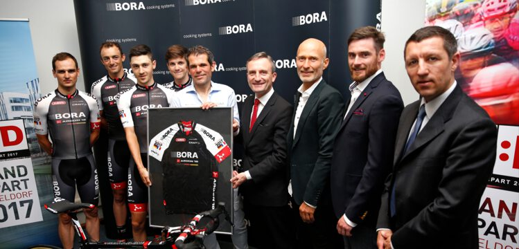 BORA – ARGON 18 and Düsseldorf to promote the Grand Départ 2017 already at  this year s Tour de France. 817321cca